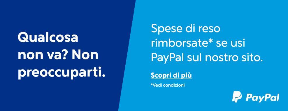 Reso Rimborsato con Paypal